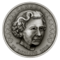 Preview: Kanada 25 Dollars Silbermünze 2018 in Antique Finish | Motiv: Elizabeth II: Die Matriarchin - Her Majesty Queen Elizabeth II: Matriarch of the Royal Family | Ausgabe: 3 von 3
