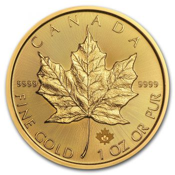 1 Unze Goldmünze Kanada 2019 - Maple Leaf