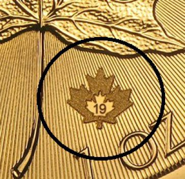 1 Unze Goldmünze Kanada 2019 | 40 Jahre Maple Leaf - Maple Leaf 40th Anniversary