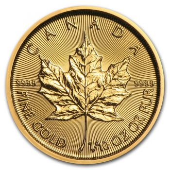 1/10 Unze Goldmünze Kanada 2020 - Maple Leaf