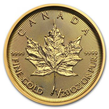 1/20 Unze Goldmünze Kanada 2019 - Maple Leaf