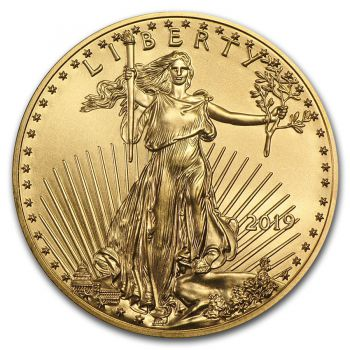 1/2 Unze Goldmünze USA 2019 - American Eagle