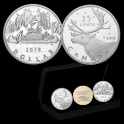Kanada Silbermünzen SET 2019 in Polierte Platte | Royal Canadian Mint Coin Lore: Back to Concept