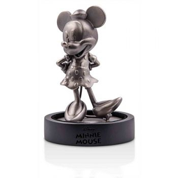 150 Gramm Silber Miniatur Statue in Antique Finish | Minnie Mouse