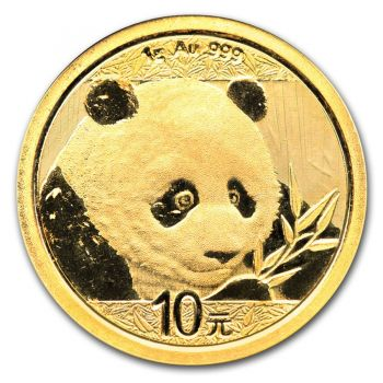 1 Gramm Goldmünze China 2018 - Panda