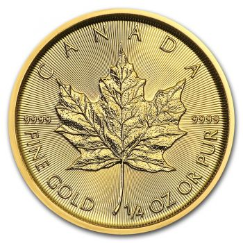 1/4 Unze Goldmünze Kanada 2018 - Maple Leaf
