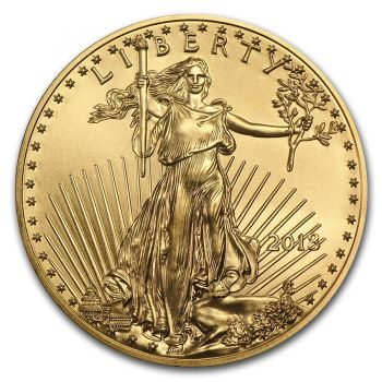 1 Unze Goldmünze USA 2018 - American Eagle