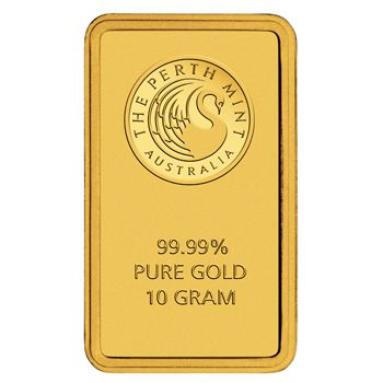 10 Gramm Goldbarren Perth Mint