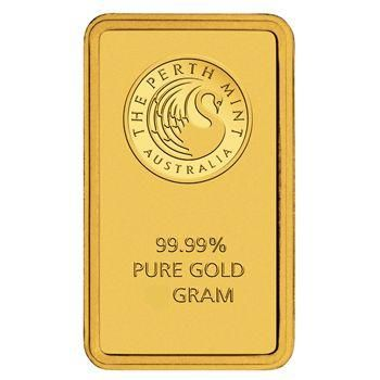 5 Gramm Goldbarren Perth Mint