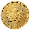 1 Unze Goldmünze Kanada 2017 - Maple Leaf