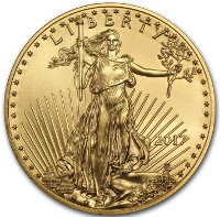 American Eagle in GOLD