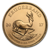 Krügerrand in GOLD