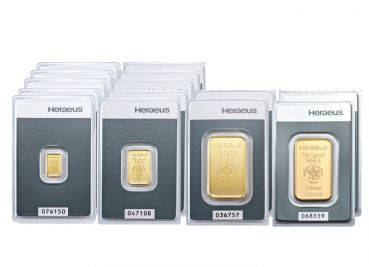 Heraeus Goldbarren Investmentpaket