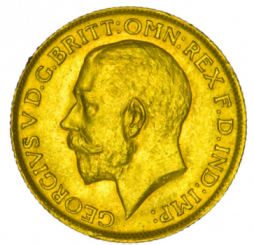 Großbritannien 1 Pfund Sovereign Goldmünze - Georg V