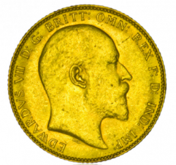 Großbritannien 1 Pfund Sovereign Goldmünze - Edward VII