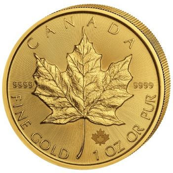 1 Unze Goldmünze Kanada 2021 - Maple Leaf