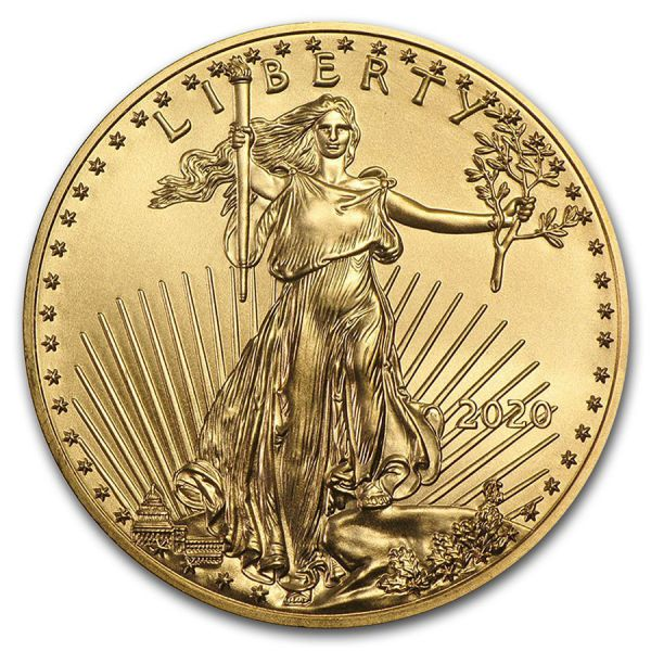 1 Unze Goldmünze USA 2020 - American Eagle